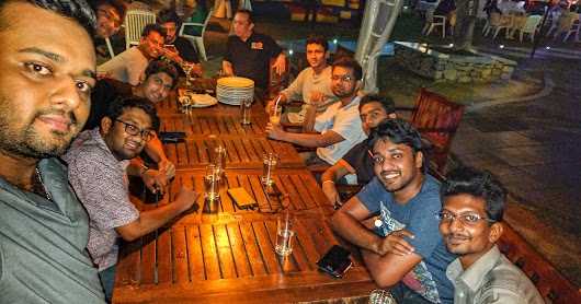 Dihan ayya's last supper with us in SL