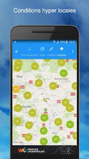 Weather Underground Capture d'écran