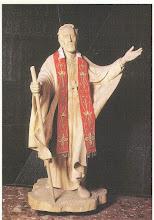 Photo: Współczesny obrazek o wym. 9 x 13 cm. Na odwrocie Nowenna. Warszawska figura procesyjna.