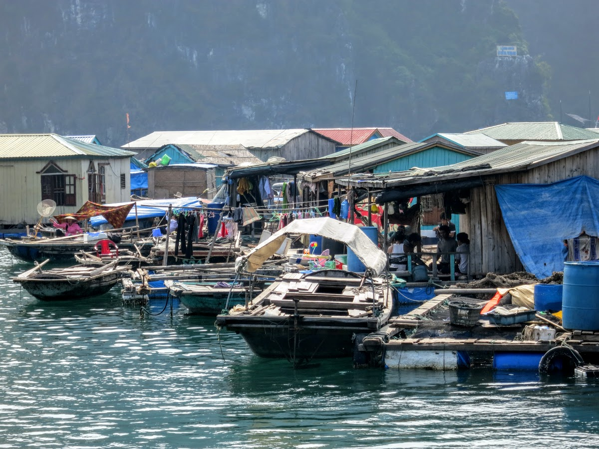 One of the many fishing villages