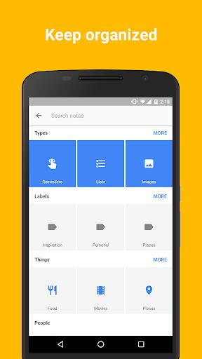 Google Keep screenshot 4