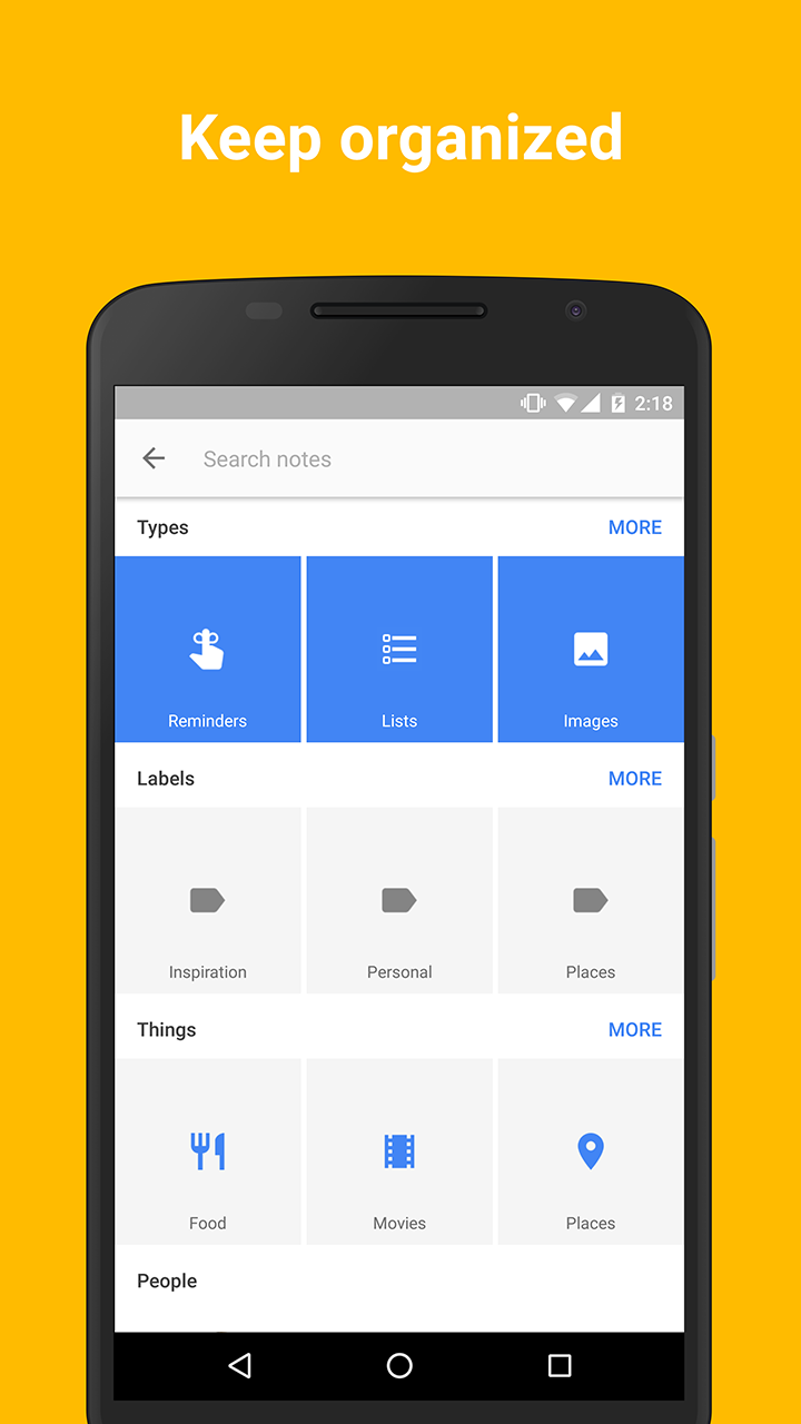 Google Keep screenshot #4