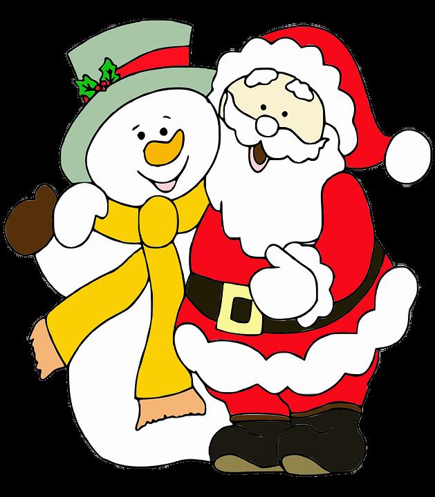 Free illustration: Santa Claus, Snowman - Free Image on Pixabay ...