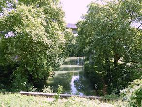 Photo: canal de Chalifert : sortie du tunnel côté Esbly-Meaux