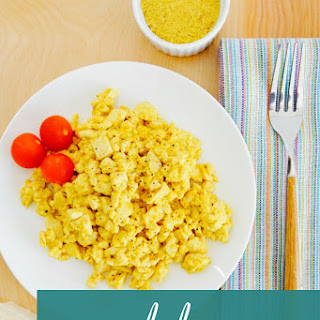Nutritarian Tofu Scrambled Eggs Recipe