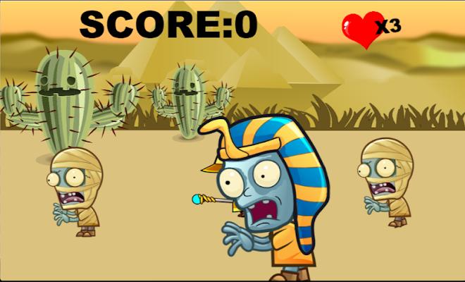 zombie hit - screenshot