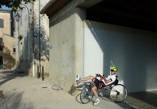 Photo: Un vélo couché