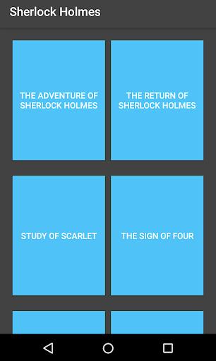 Sherlock Holmes Stories 1.3 screenshots 1
