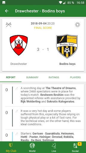 Hattrick Football Manager Game apktram screenshots 5