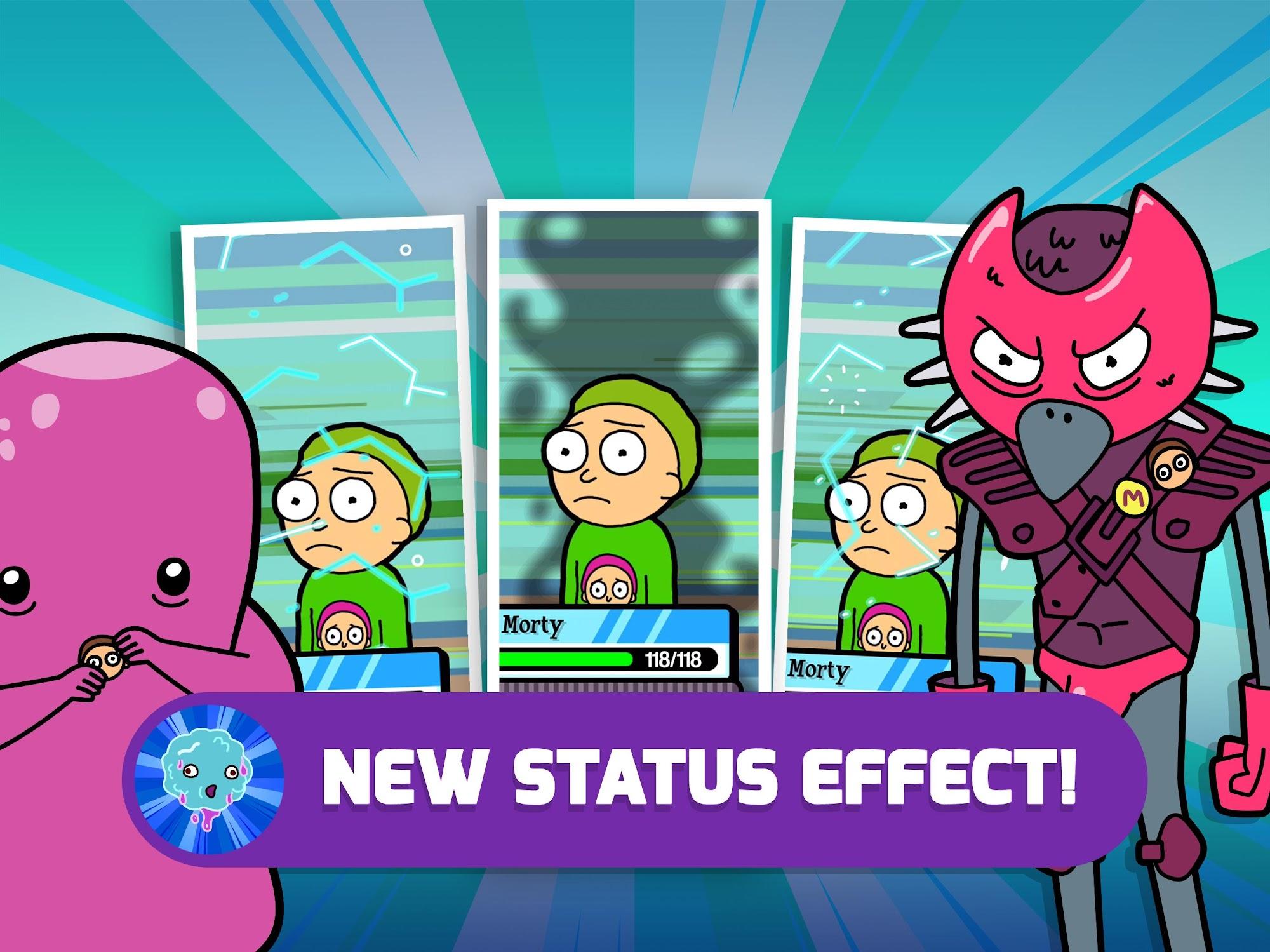 Pocket Mortys screenshot #10