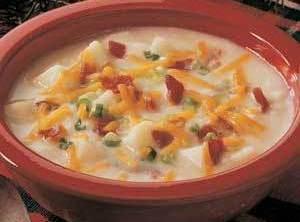 Loaded Bake Potato Soup Recipe