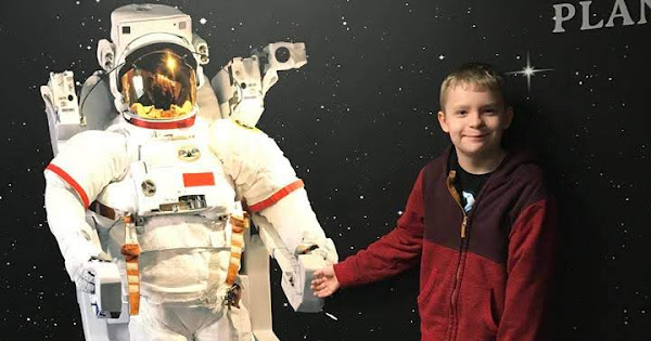 Out of this World Experience - Dewitt visits Planetarium - February 7, 2019