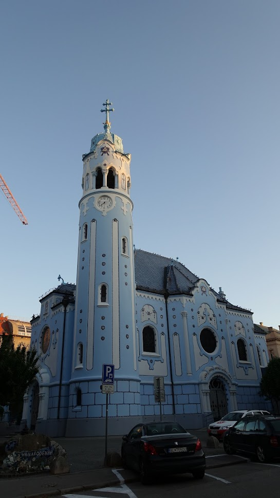 Modrý kostol sv. Alžbety