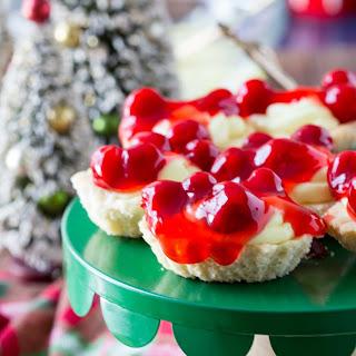 Cherry Cheesecake Butter Tarts.