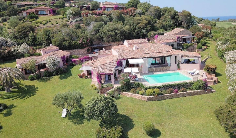 Villa avec piscine et jardin Porto Cervo