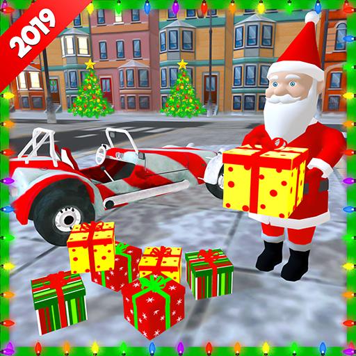 Baixar Santa Claus Stunt Car Christmas Gift Delivery