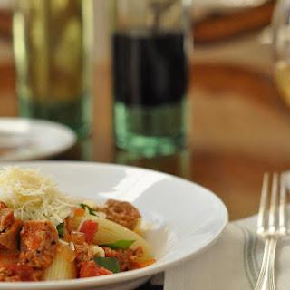 Italian Sausage Pasta.