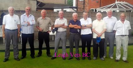 Photo: Leigh BC Vets Team