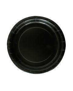 Svarta tallrikar, 16 st