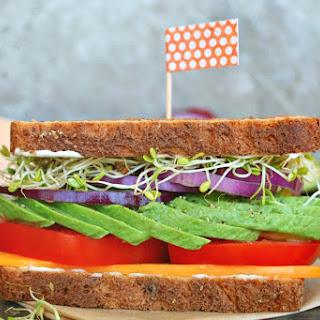 Gourmet Veggie Sandwich