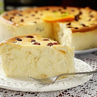 Light cottage cheese casserole Multivarki
