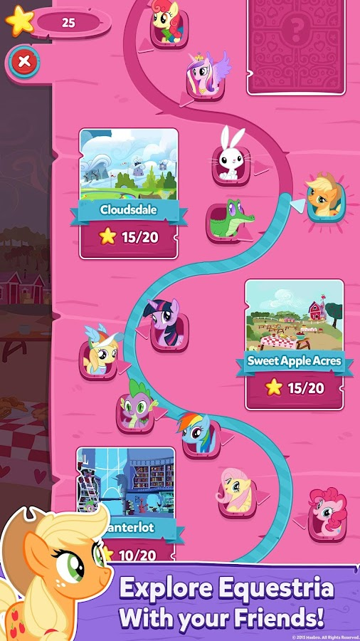 My Little Pony: Puzzle Party- screenshot