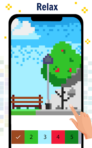 Pixel Art Color by number - Coloring Book Games 2.2 screenshots 3
