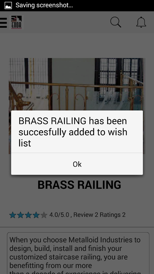 ENOR RAILING- screenshot