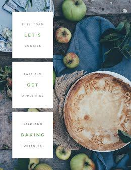 Let's Get Baking - Poster item