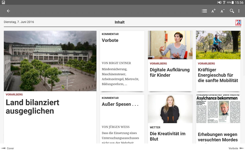 VN - Vorarlberger Nachrichten - Android Apps on Google Play