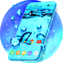 Bubbly Water Live Wallpaper & Animated Keyboard icon