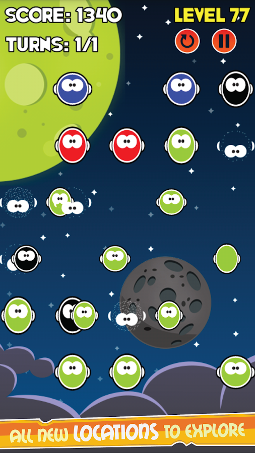 Galaxy Bubble Shooter- screenshot