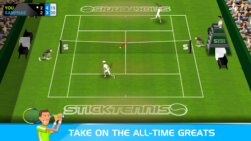 Stick Tennis  screenshots 2