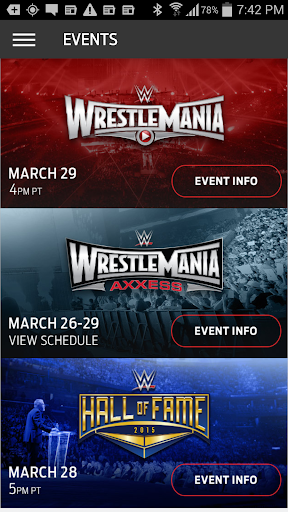 WWE WrestleMania screenshot 1