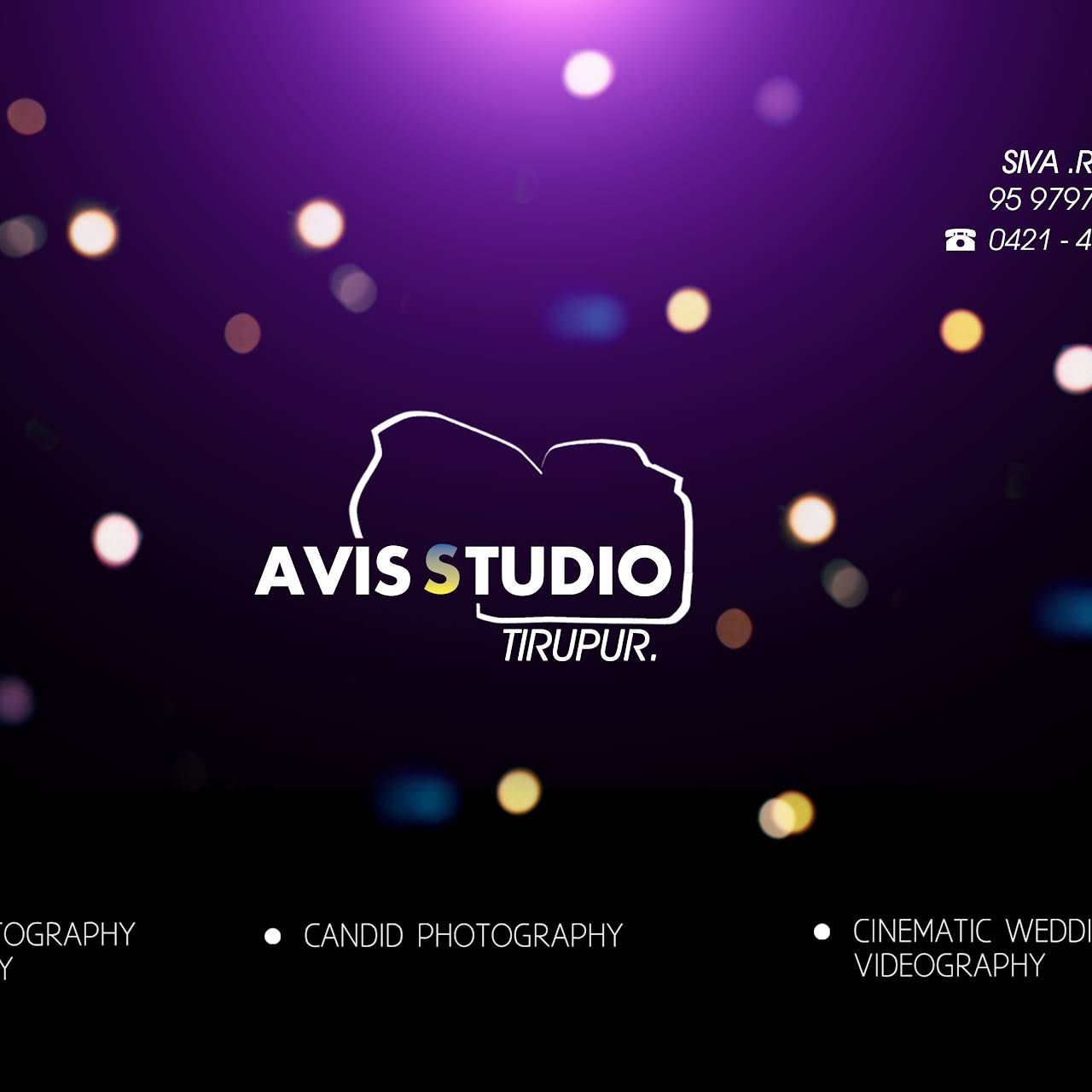 Avis Studio - Photography Studio in Tiruppur