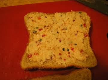 Bacon White Cheddar Pepper Pimento Cheese Spread