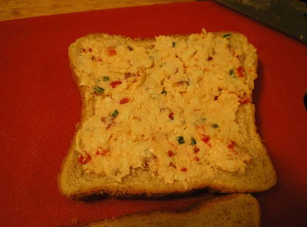 Bacon White Cheddar Pepper Pimento Cheese Spread Recipe