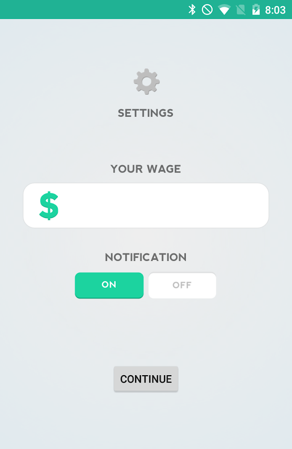 Wage Calculator- screenshot