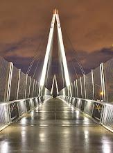 Photo: Cupertino Bridge @ Cupertino, CA - http://photo.leptians.net