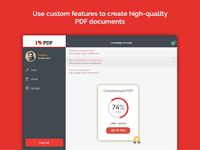 iLovePDF - PDF Editor & Reader Screenshot
