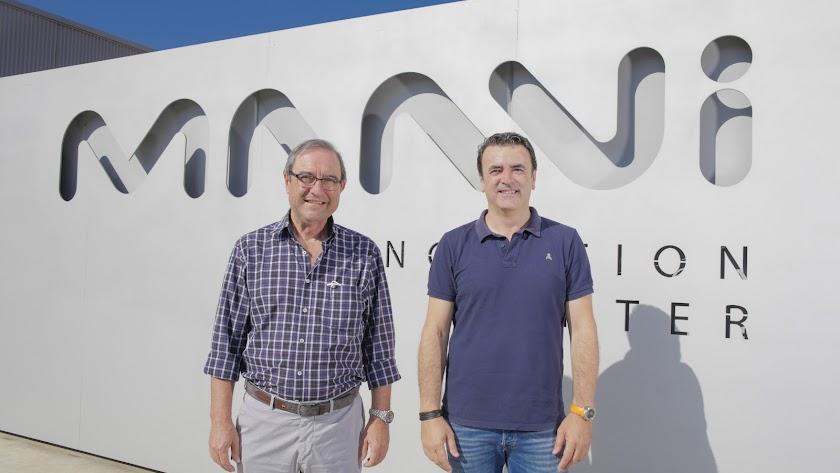 Lucas Galera, gerente de Novagric, y Antonio Domene, vicepresidente de Kimitec.