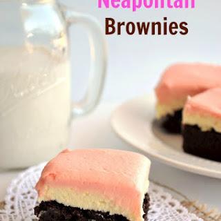 Neapolitan Brownies.