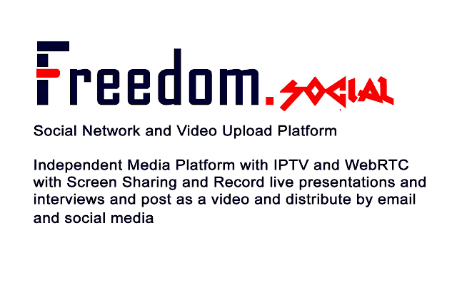 Freedom.social Screenshare Extension