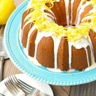 Lemon Cream Cheese Pound Cake Recipes