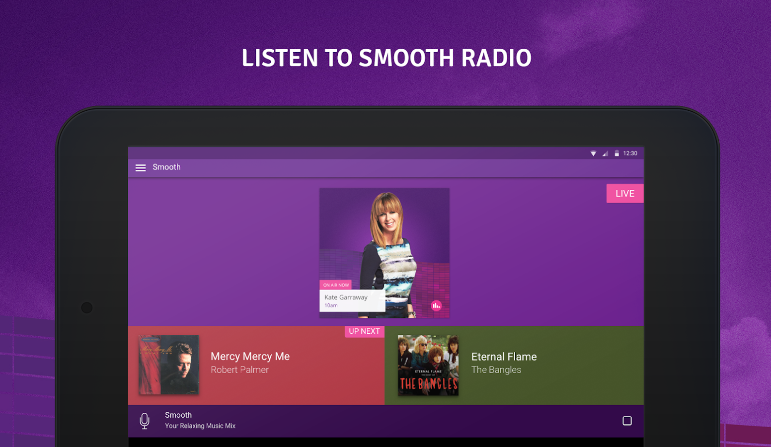 Smooth Radio- screenshot