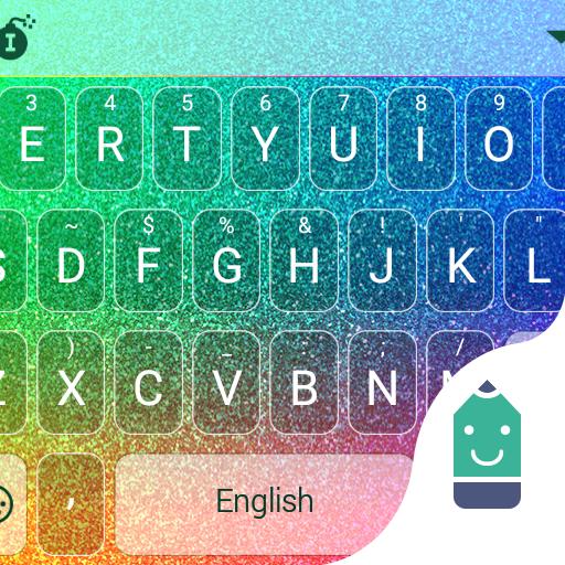 Colorful Sparkling Emoji Theme