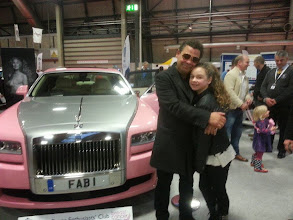 Photo: Actor Craig Charles popped by