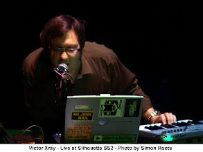 Photo: Victor Xray circa 2006. Photo by Simon Roots.