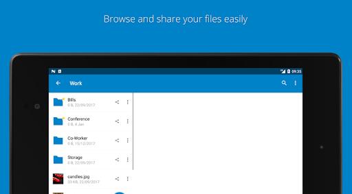 Nextcloud modavailable screenshots 8