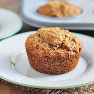 Carrot Coconut Muffins.